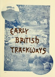 Cover of: Early British trackways | Alfred Watkins