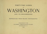 Cover of: Forty-two views of Washington and its neighborhood | Columbian Correspondence College (Washington, D.C.)