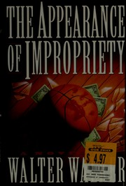 Cover of: The appearance of impropriety | Walter Walker