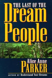 Cover of: The last of the dream people
