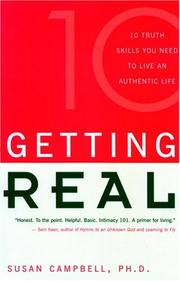 Cover of: Getting Real | Susan Campbell