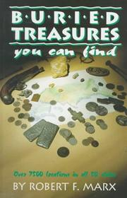 Cover of: Buried treasures you can find | Robert F. Marx