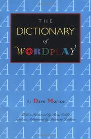 Cover of: The dictionary of wordplay