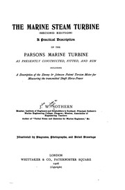 Cover of: The Marine Steam Turbine: A Practical Description of Parson's Marine Turbine by John William Major Sothern