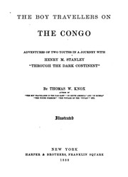 The boy travellers on the Congo by Thomas Wallace Knox