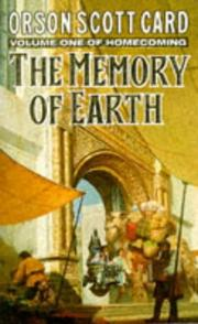 Cover of: The Memory of Earth (Homecoming S.)