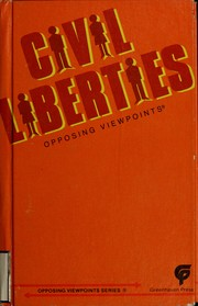 Cover of: Civil liberties | Julie S. Bach