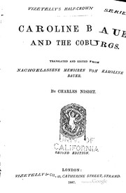 Caroline Bauer and the Coburgs.