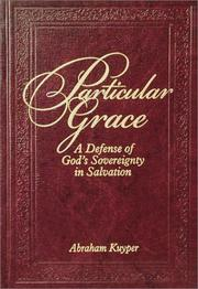 Cover of: Particular grace