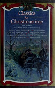 Cover of: Classics for Christmastime |