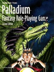 Cover of: The Palladium fantasy role-playing game