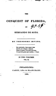 Cover of: The conquest of Florida by Hernando de Soto | Theodore Irving