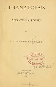 thanatopsis poem pdf