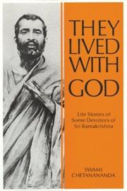 Cover of: They Lived with God