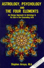 Cover of: Astrology, psychology, and the four elements