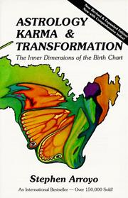 Cover of: Astrology, karma & transformation