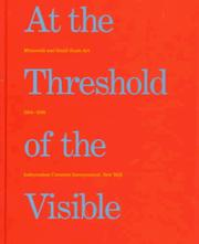 Cover of: At the threshold of the visible | Ralph Rugoff, Susan Stewart