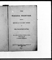 Cover of: The Niagara frontier | Orsamus H. Marshall
