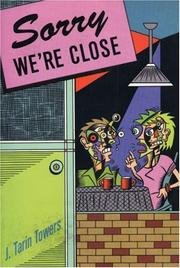 Cover of: Sorry we're close