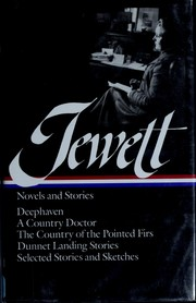 Cover of: Novels and stories | Sarah Orne Jewett