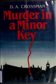 Cover of: Murder in a minor key | D. A. Crossman