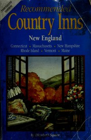 Cover of: Recommended Country Inns | Elizabeth Squier