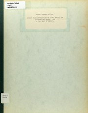 Cover of: Amount and distribution of water masses in February and March, 1962 in the Gulf of Mexico