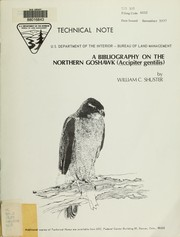 Cover of: A bibliography on the northern goshawk (Accipiter gentilis)