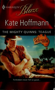 Cover of: The mighty Quinns | Kate Hoffman