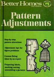 Cover of: Pattern adjustments |