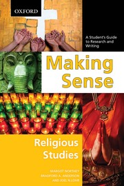 Cover of: Making sense | Margot Northey