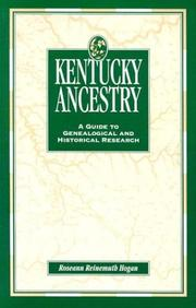 Cover of: Kentucky ancestry | Roseann Reinemuth Hogan