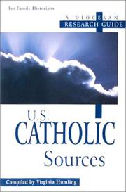 Cover of: U.S. Catholic sources