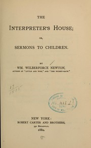 Cover of: The interpreters house