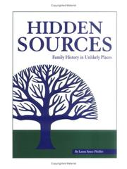 Cover of: Hidden sources