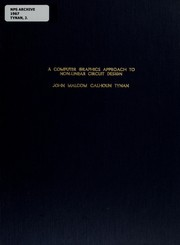 Cover of: A computer graphics approach to non-linear circuit design