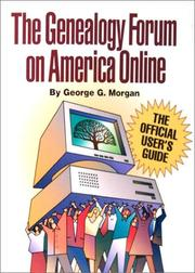 Cover of: The genealogy forum on America Online | George G. Morgan