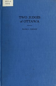 Cover of: Two judges from Ottawa