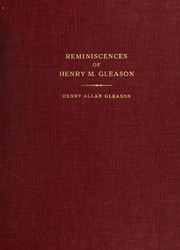Cover of: Reminiscences of Henry M. Gleason