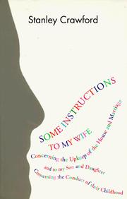 Cover of: Some instructions