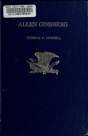 Cover of: Allen Ginsberg | Thomas F. Merrill