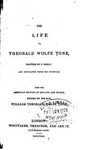 The life of Theobald Wolfe Tone