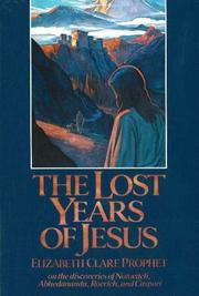 Cover of: The lost years of Jesus