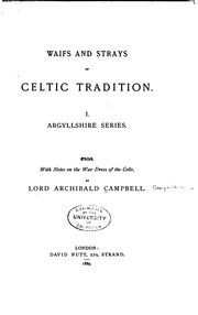 Cover of: [Craignish tales and others] ... | Campbell, Archibald Lord
