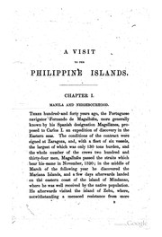 A visit to the Philippine Islands.