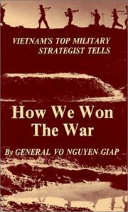Cover of: How we won the war