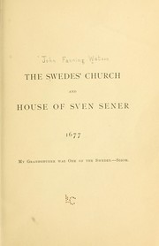 Cover of: The Swedes