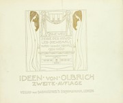 Cover of: Ideen | Joseph Maria Olbrich