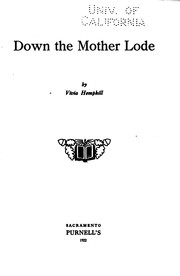 Cover of: Down the mother lode | Vivia Hemphill