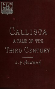 Cover of: Callista by John Henry Newman